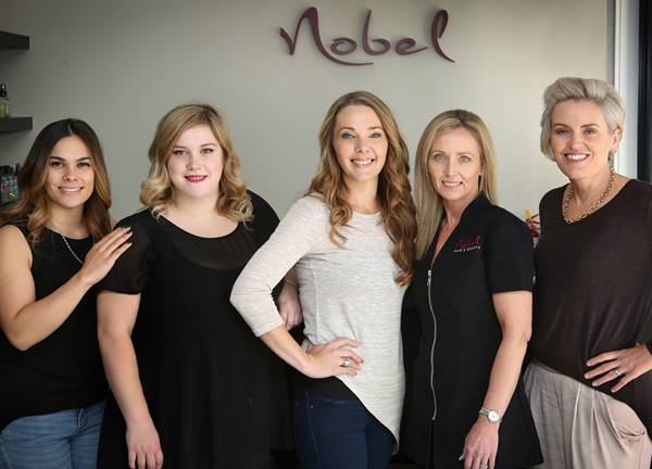Nobel Hair and Beauty Beachlands Team