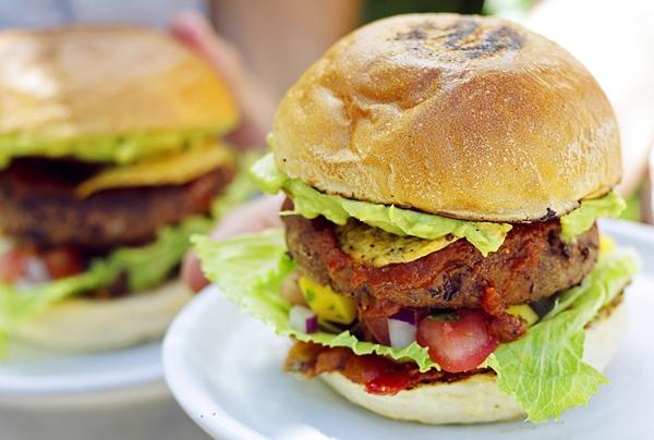 Spicy Mex Vegan Burger Times