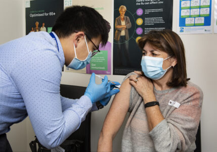 Mayor urging people to get vaccinated